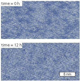 Point defects in adsorbed cesium ions on mica