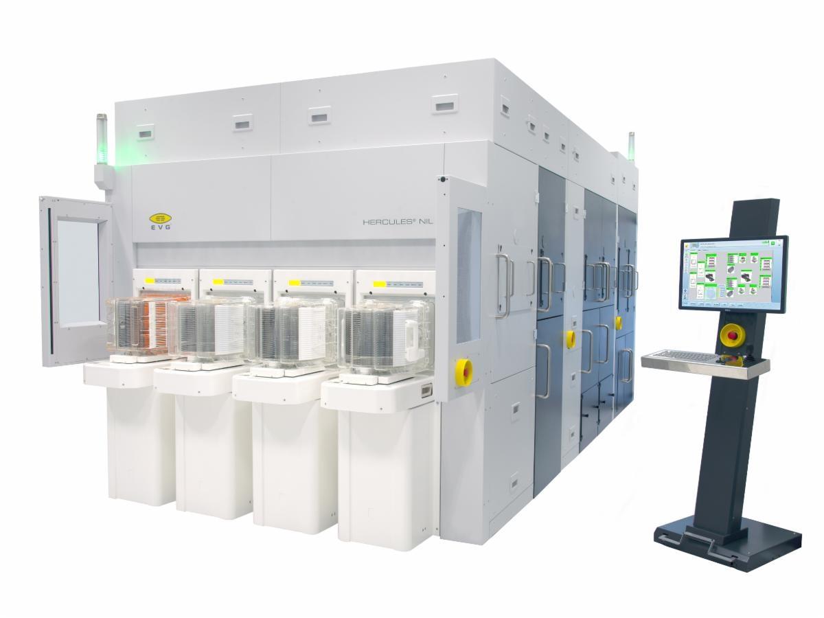 Ev Group и партнер Schott продемонстрируют готовность 300-миллиметровой наноимпринт-литографии для производства стекла большого объема с дополненной / смешанной реальностью
