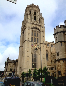 Wills Memorial Building, Bristol University, the location of the 10th Seeing at the Nanoscale event.