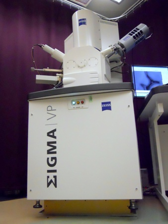 Zeiss Sigma VP SEM installed on AVI-400 Active Vibration Control System