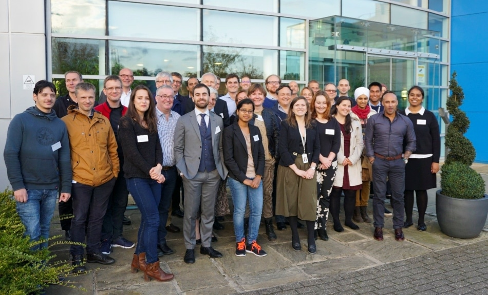 The PIPPI consortium members and fellows, gathered at MedImmune in Cambridge, UK.
