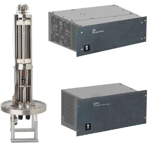 MAX 50 Flange Mounted Quadrupole Probe and Control System.