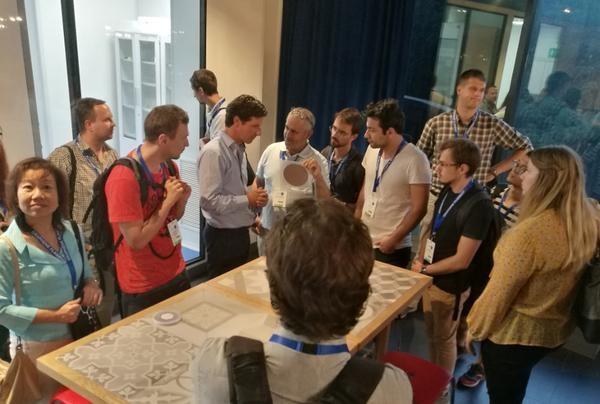 Conference participants visit Graphenea HQ as part of Graphene Week 2018