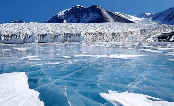 Nanoparticle Size Analysis to Determine the Antarctic Climate Change