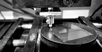 Nanoindentation for Hardness Distribution of Hardened Metal