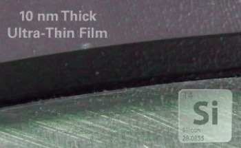 Determine Elastic Properties of the Ultra-Thin-Film System