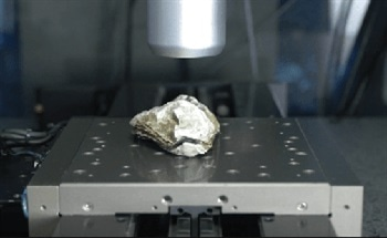 Using a Profilometer for the High Speed Characterization of an Oyster Shell