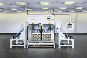 Nanofiber Fabrication System - Elmarco Nanospider™ Production Line NS 4S1000U