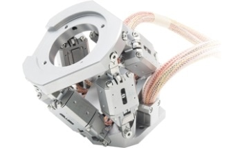 P-911K UHV-Compatible Miniature Piezo Hexapod from Physik Instrumente