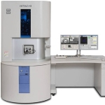 Hitachi FIB/SEM – Integrated Ga-ion FIB and Hi-Res FE-SEM – NB5000 nanoDUE'T