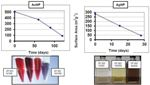 Quantifying Nanoparticle Aging Using Wetted Surface Area Measurements