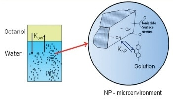 Coupling Thermal Analysis with Spectroscopy for Characterization of Nanoparticle Interactions with Organic Pollutants