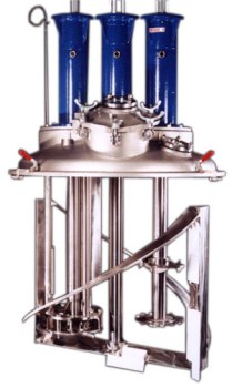 Dual and Triple Shaft Mixers to Disperse High Viscosity Products