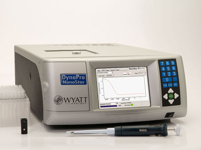 DynaPro® NanoStar® Dynamic Light Scattering Detector