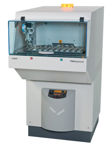 CubiX 3 Industrial X-Ray Diffractometer XRD with Sample Changer by PANalytical