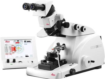 Ultramicrotome for Perfect Sectioning of Biological Specimens - EM UC7 from Leica