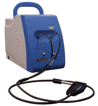 Lightweight, Portable i-Raman Spectrometer from B&W Tek