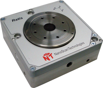 Nano Piezo Stage for Nanopositioning and Scanning - Ratis from Nanoscan Technology