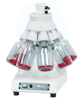 Rotary Cone Sample Divider for Perfect Sample Preparation - LABORETTE 27