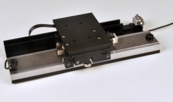Compact Linear Stepper Positioning Stage by H2W Technologies
