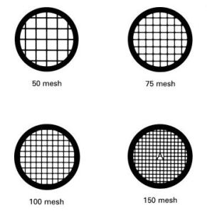 Electron Microscopy Grids for TEM and SEM from Agar Scientific