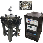 Cryogenic Probe Station with Vertical Field Superconducting Magnet - Lake Shore Cryotronics Model CPX-VF
