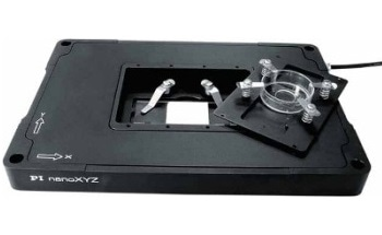 PInano Super Resolution Microscope Piezo Scanning Nano-Positioning XY Stage from PI