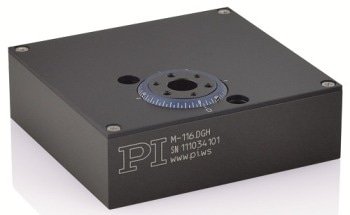 M-116 Precision Miniature Motorized Rotation Stage from Physik Instrumente