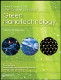International Journal of Green Nanotechnology: Taylor & Francis Publishing
