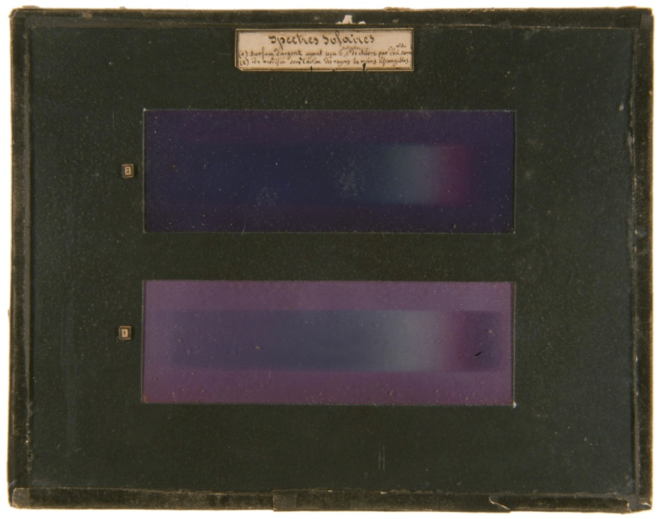 The Origin of Colors in the First Color Photographs