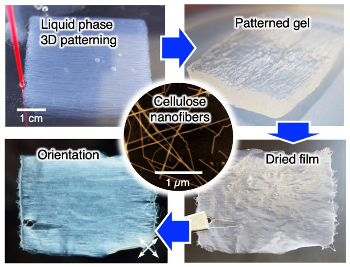 3D-Patterned Nanocellulose Could Lead to Advanced Optical, Thermal Devices