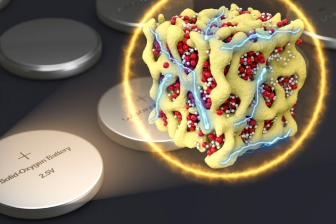 MIT's Lithium-Oxygen Battery with New Chemistry Could Overcome Drawbacks in Conventional Lithium-Air Batteries