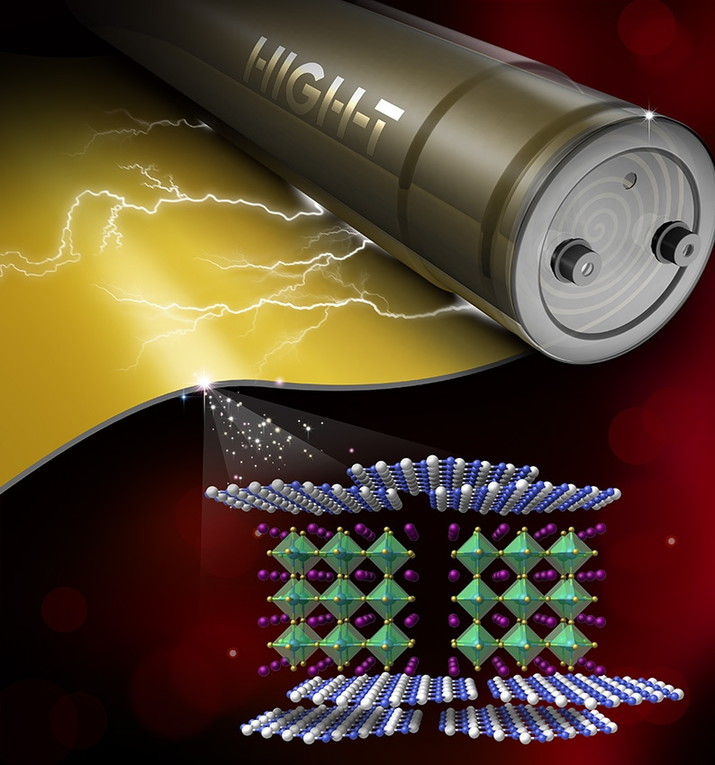 New Energy Storage Material Designed for Electric Vehicles