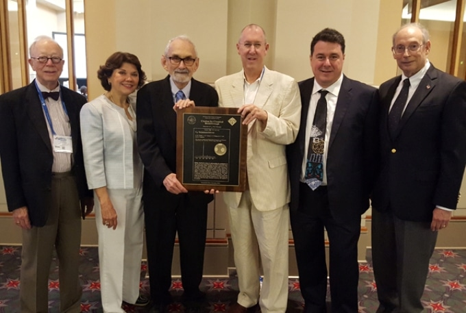 Rice University Receives Citation for Chemical Breakthroughs Award for Discovery of Carbon 60