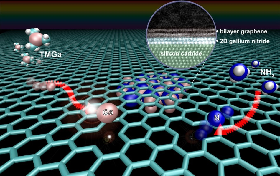 Graphene Used to Enhance Properties of 2D Semiconductor