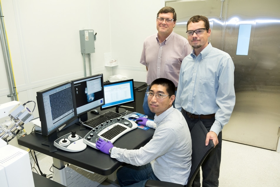 ORNL Team Uses Nano-Spike Catalysts to Turn Carbon Dioxide into Ethanol