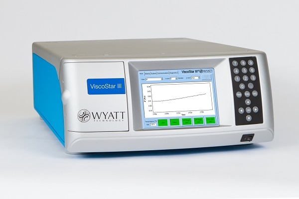 Wyatt Technology Corporation Launches the ViscoStar III Online Viscometer for Polymer and Protein Characterization