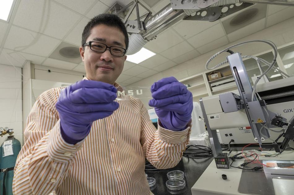 A Step Towards Stretchable Electronics
