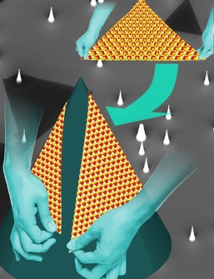 Scientists Show Growing Atom-Thin Sheets on Cones Allows Control of Defects in 2D Material
