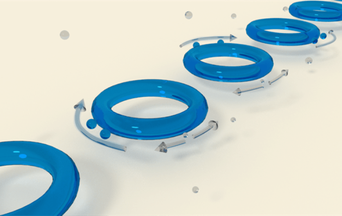 Observing Nanoparticles by Achieving Frequency Splitting
