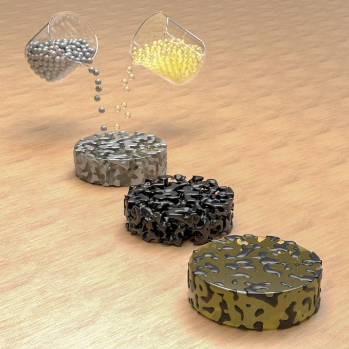 Graphene Foam and Epoxy Combined to Form Tough, Conductive Composite