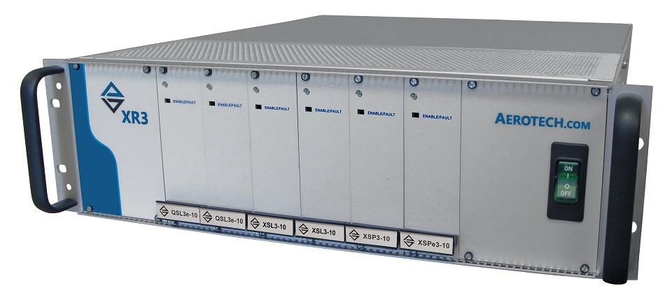 Six-Axis Drive Rack with Fiber-Optic Interface for Brush, Brushless, and Stepper Motors