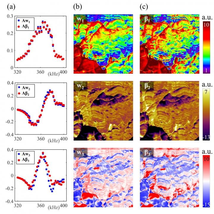 Atomic Force Microscopy Enhanced by Smart Data