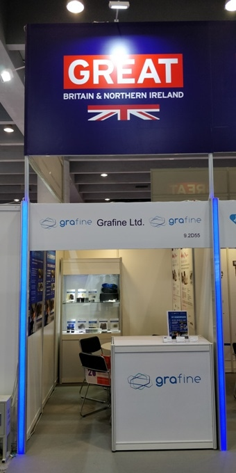 Grafine Ltd Exhibits at Chinaplas 2019