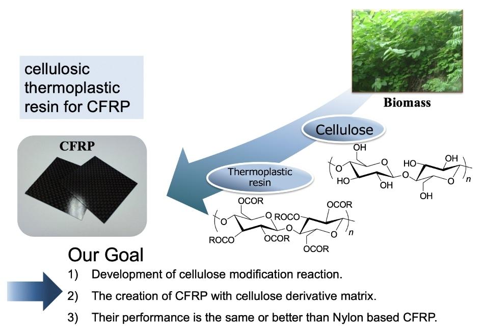 Short Carbon Fiber Thermoplastics Enhanced with Electron Beam