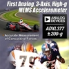 Analog Devices' MEMS Accelerometer Accurately Measures Concussive Forces and High-Impact Events