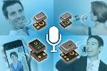 Akustica Adds Four New High-Performance Analog Microphones to its HD Voice Product Line