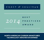 OCSiAl TUBALL™ Carbon Nanotube Products Win Frost & Sullivan Award for Technology Innovation