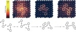 Atomic Force Microscopy Takes Snapshots of Two Molecules Reacting on Surface of Catalyst