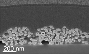 Rice University Lab Uses Electron Beam to Convert Nanorods into Multistate Switches